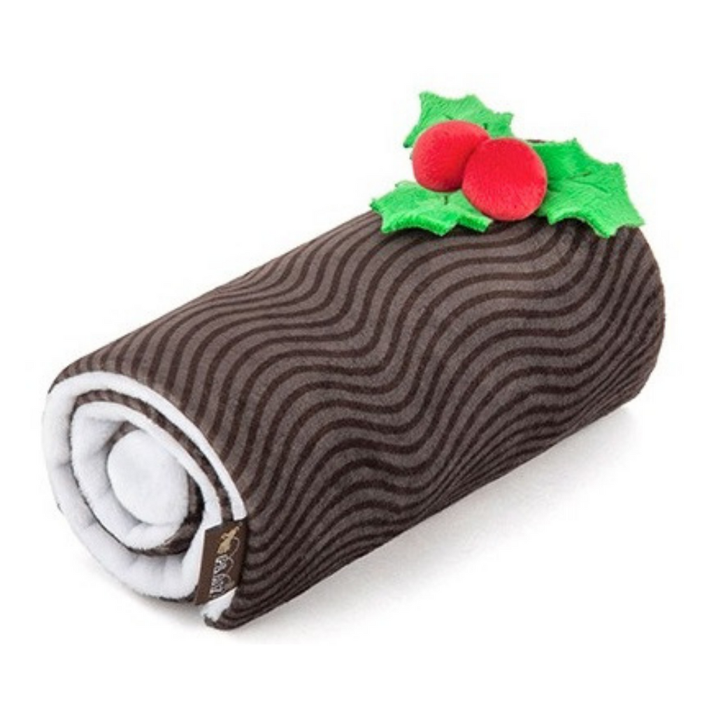 Holiday Classic Yuletide Log Dog Toy - Coco & Pud