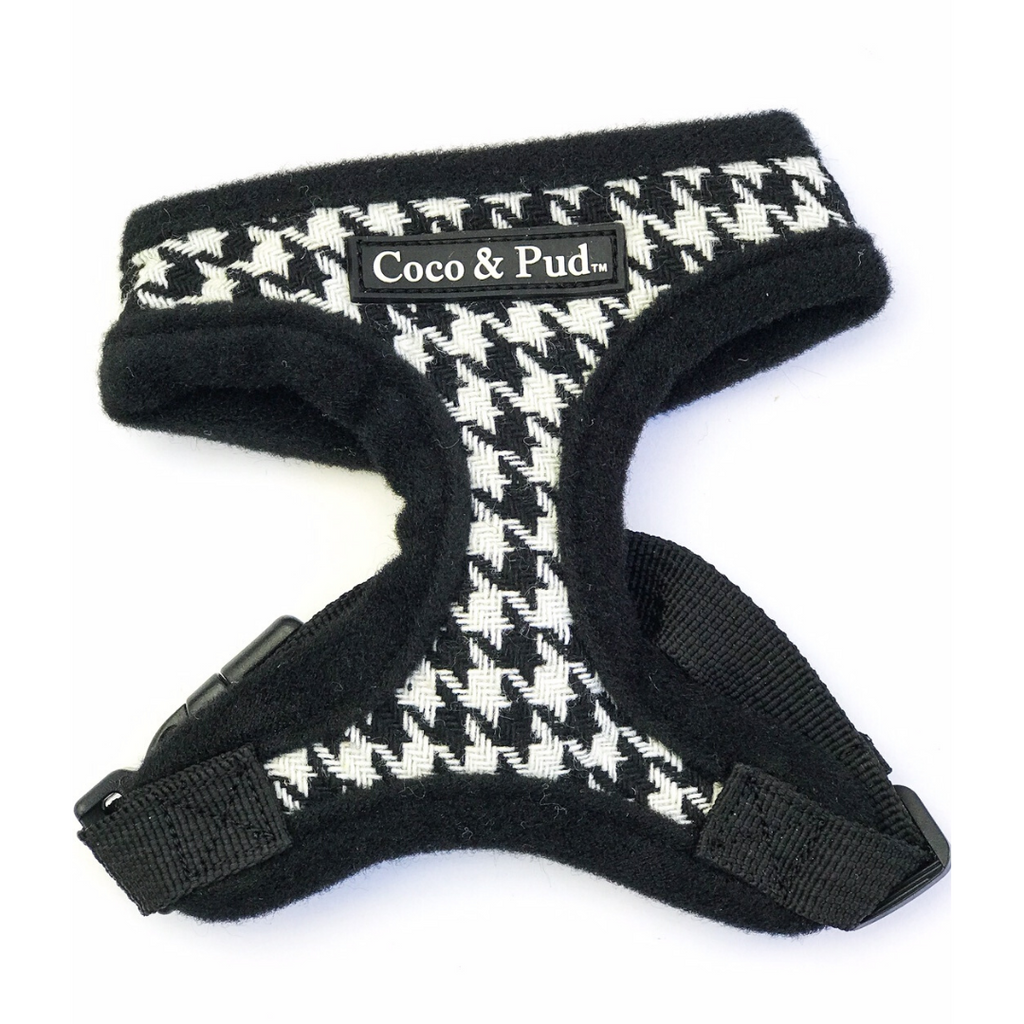 Coco & Pud Houndstooth Kitten Harness