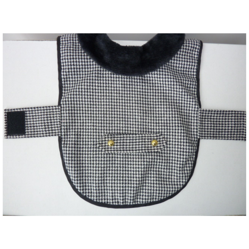 Coco & Pud Houndstooth Dog Coat - Coco & Pud