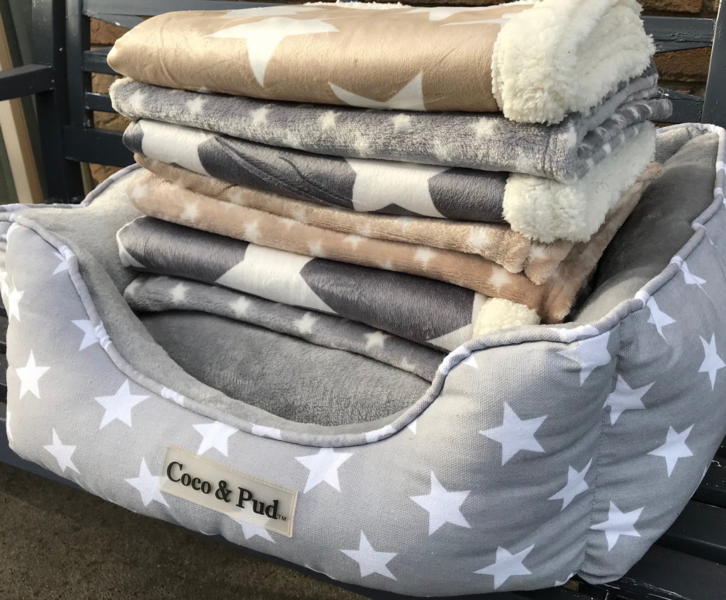 Coco & Pud Hamptons Blankets & Luxe Bed