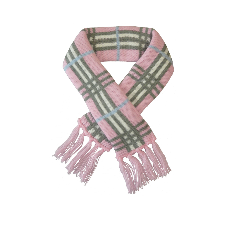 Knightsbridge Pet Scarf - Pink