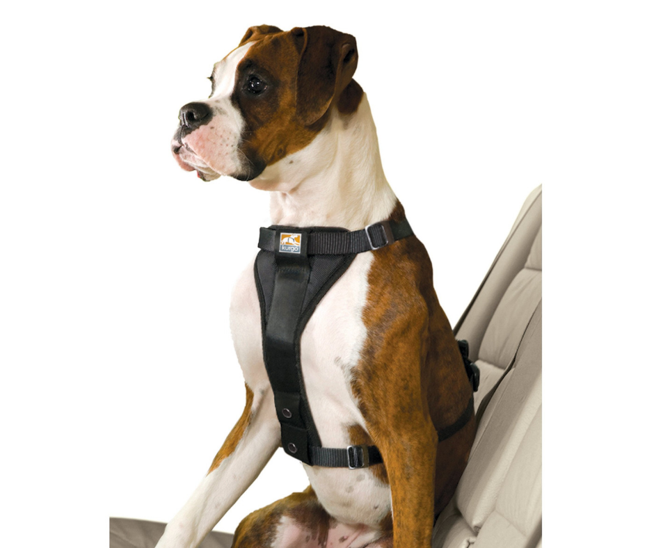 KURGO Enhanced Strength Tru-Fit Smart Car Harness