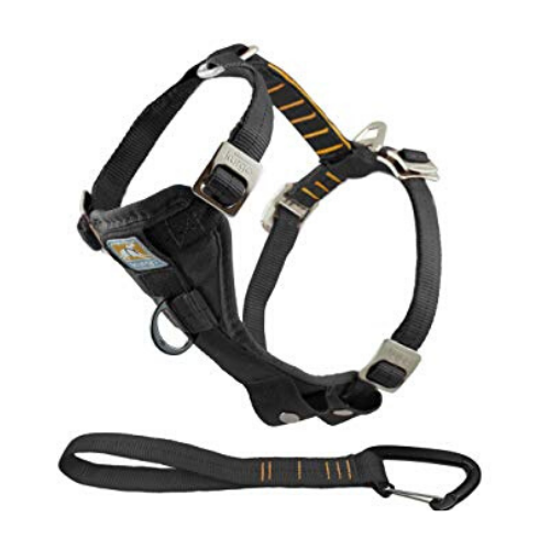 KURGO Enhanced Strength Tru-Fit Smart Car Harness - Coco & Pud