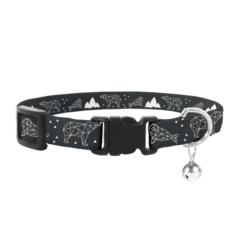 Coco & Pud Luna Bear Cat Safety Collar