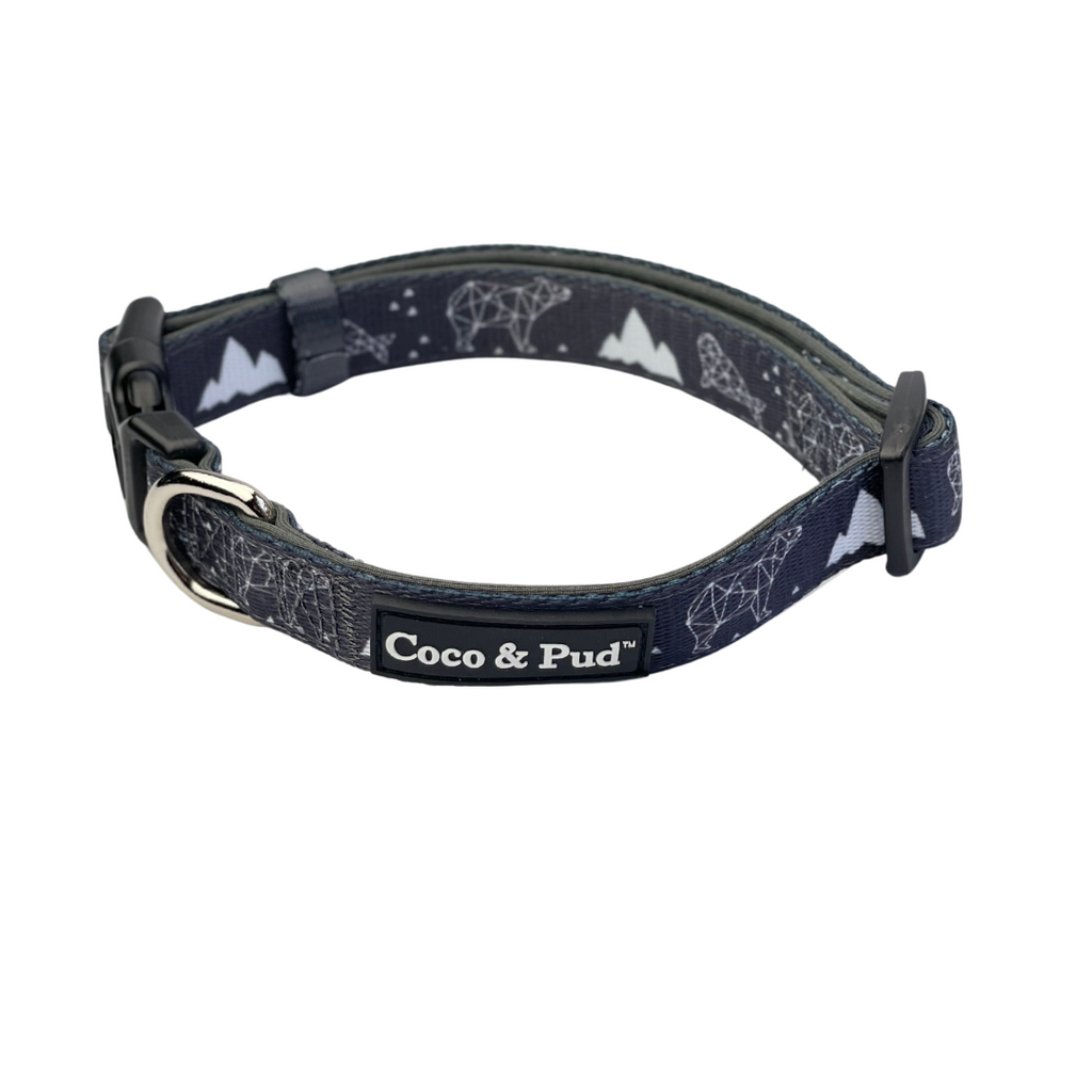 Coco & Pud Luna Bear Dog Collar