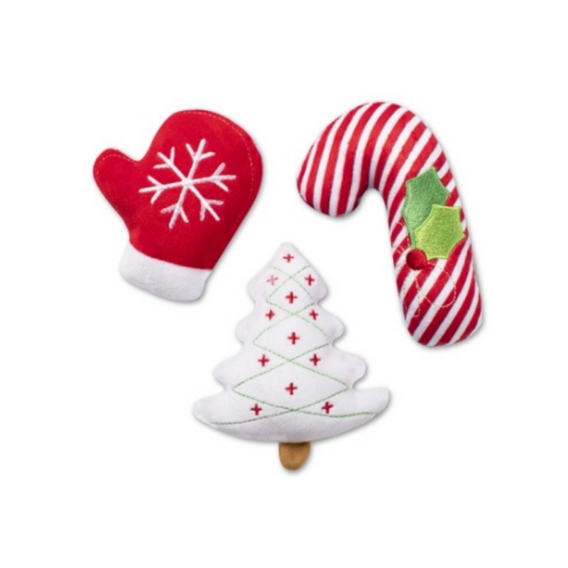 Mini Happy Holidays Dog Toys - Limited stock!