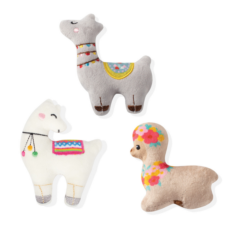 Fringe Studio Llama Love Small Dog Toys - Coco & Pud