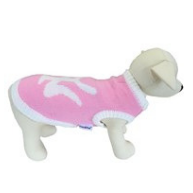 Coco & Pud New York Dog Sweater - Pink