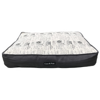 Coco & Pud Paris Luxe Floor Cushion - French upper