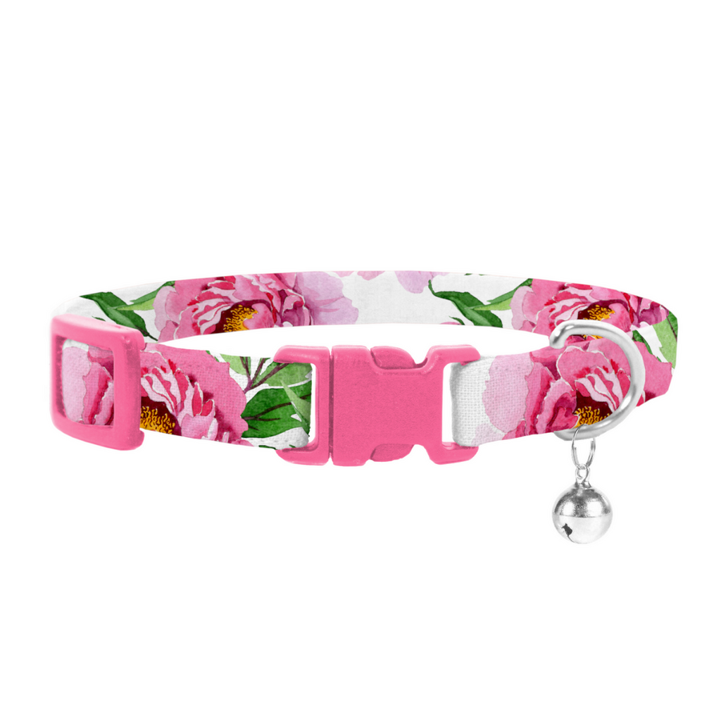 Coco & Pud Peony Cat Safety Collar