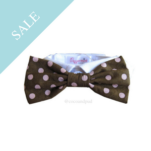 Polka Dot - Colin Bow Tie Collar - Coco & Pud