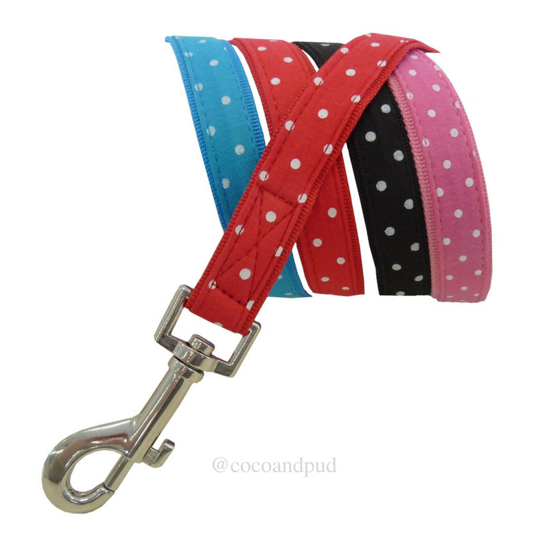 Polka Dot Harness - Red (Discontinued Stock) - Coco & Pud