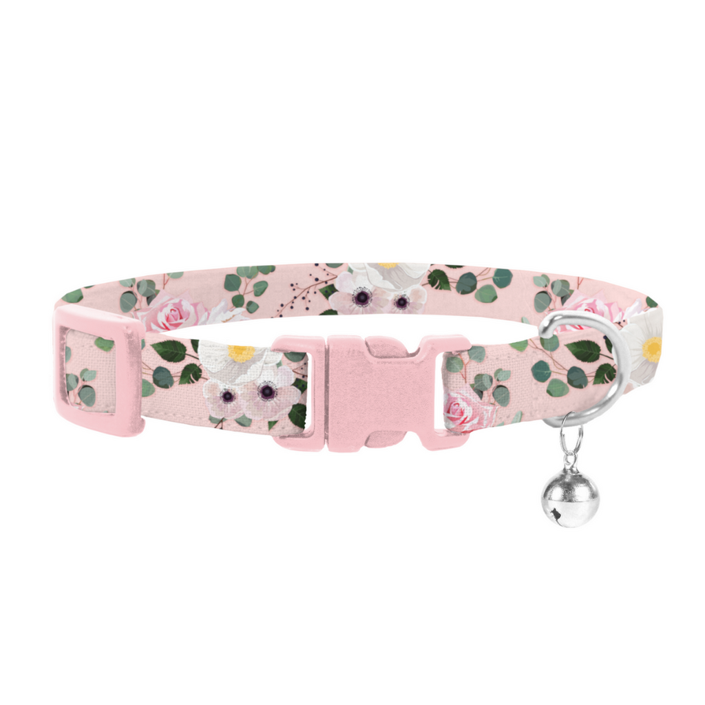 Coco & Pud Provence Rose Safety Cat Collar