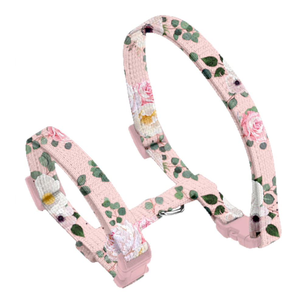 Coco & Pud Provence Rose Cat Harness