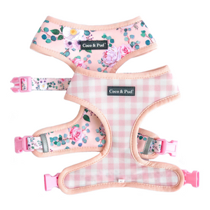 Coco & Pud Provence Rose Reversible Dog Harness