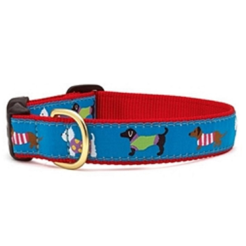 Puttin on the Knits Dog Collar - Coco & Pud