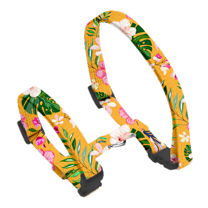 Coco & Pud Summer Sunrise Cat harness