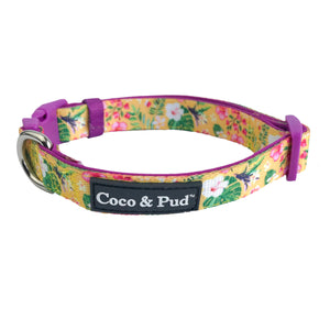 Coco & Pud Summer Sunrise Dog Collar