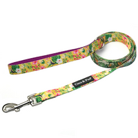 Coco & Pud Summer Sunrise Reversible Dog lead/ Leash