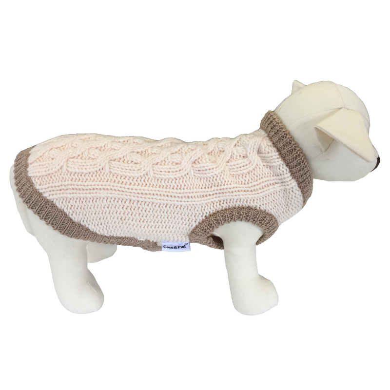 Coco & Pud Whitehall Dog Sweater