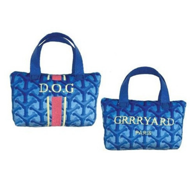 Grrryard Handbag Dog Toy - Coco & Pud