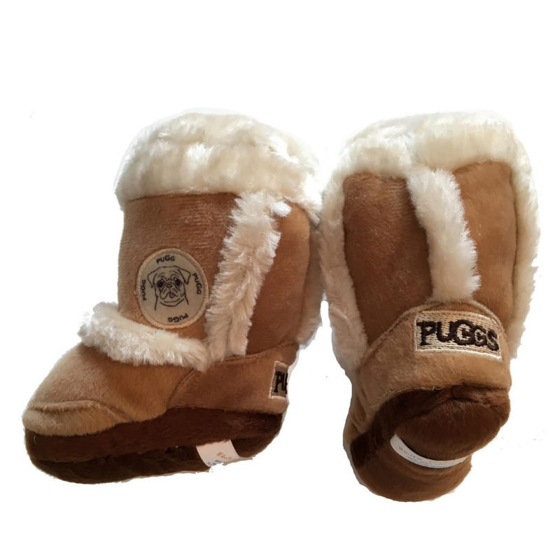 Puggs Shoe Dog Toy - Coco & Pud