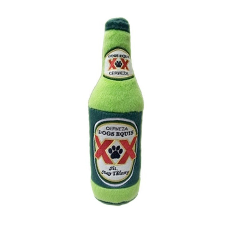 Coco & Pud Cerveza Dogs Equis XX Dog Toy