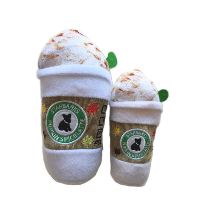 Starbarks Pupkin Spice Latte Dog Toy - Coco & Pud