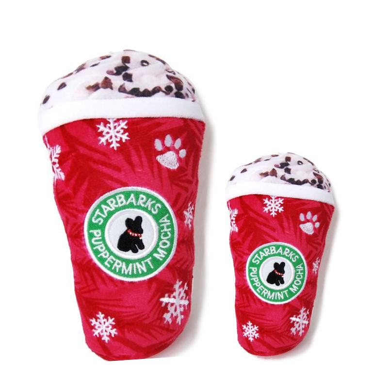 Starbarks Puppermint Mocha Original Dog Toy - Coco & Pud