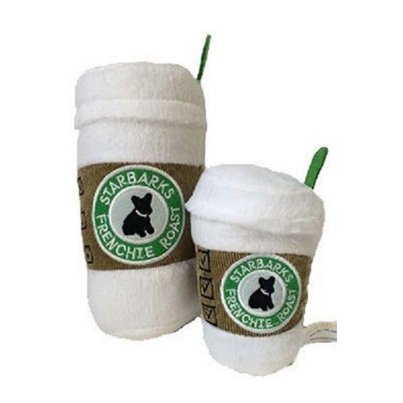 Starbarks White Lid Dog Toy - Coco & Pud