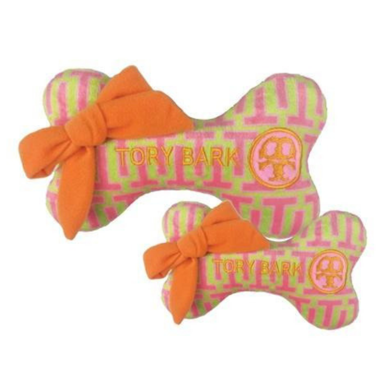 Tory Bark Bone Dog Toy - Coco & Pud