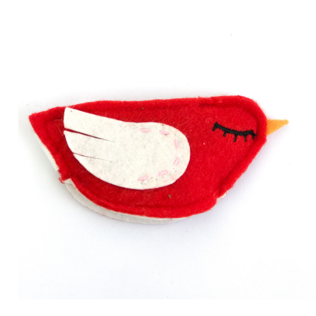 Wagnolia Bakery CatNip Bird Toy - Red