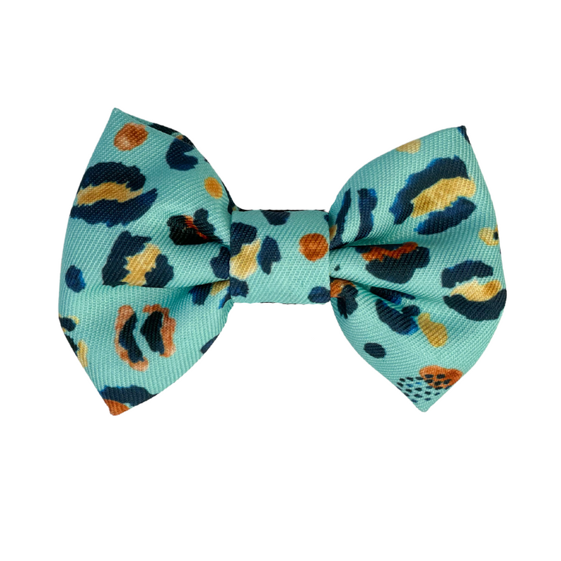 Coco & Pud Walk on the Wild Side Dog Bowtie