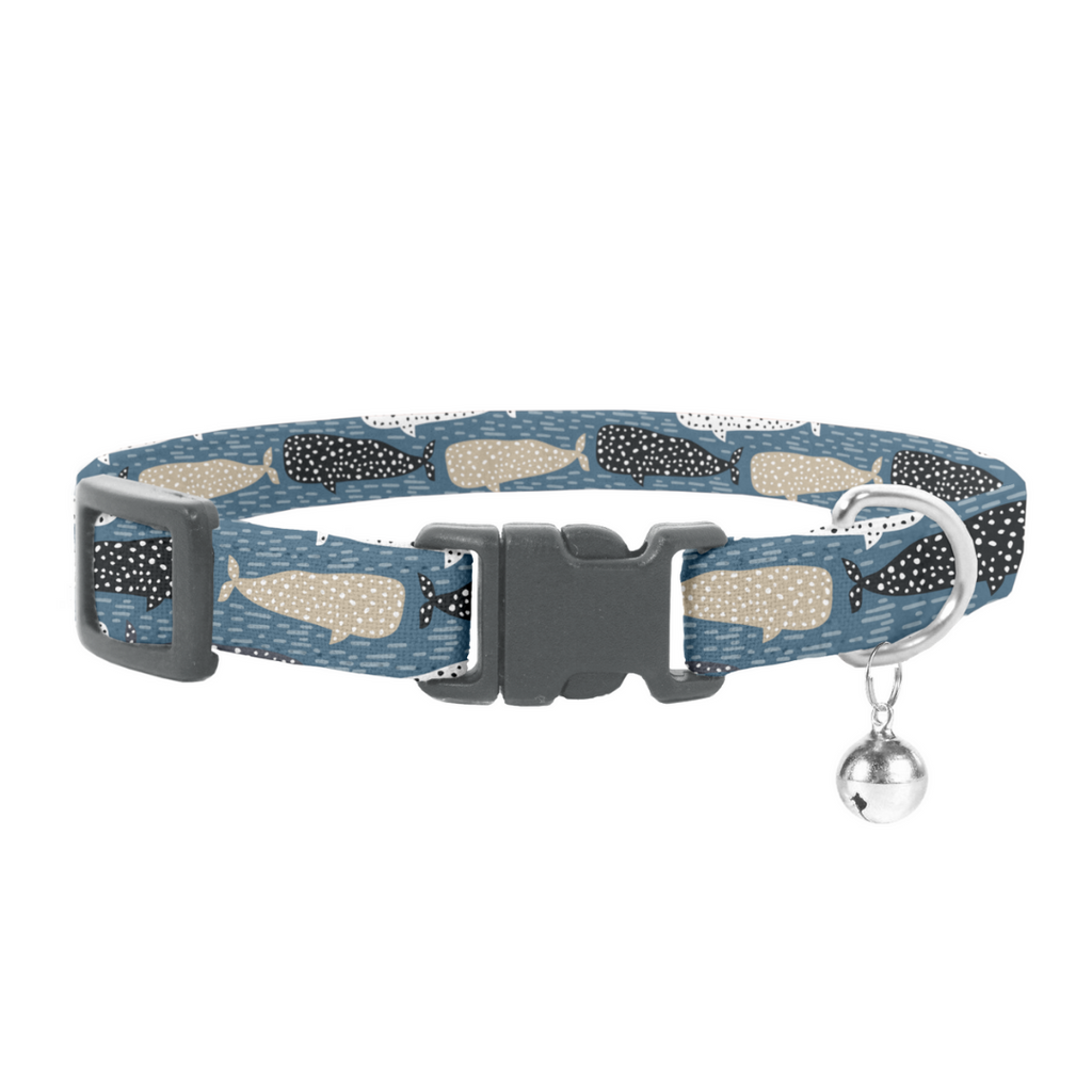 Coco & Pud Whale of a Time Cat Safety Collar