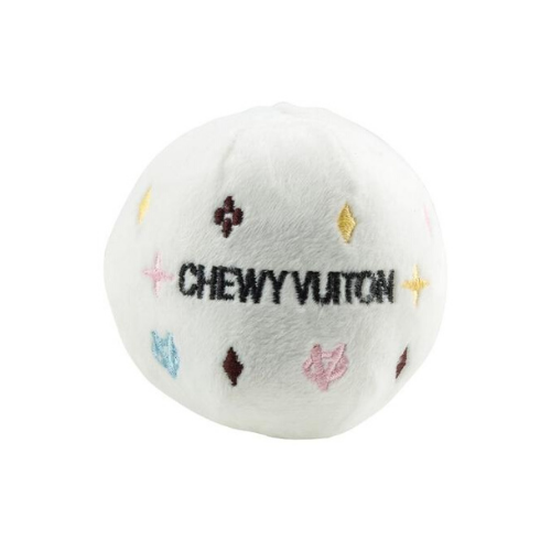 Coco & Pud Chewy Vuiton Ball Dog Toy