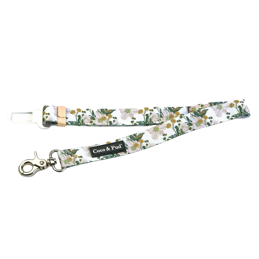 Coco & Pud Windflower Car Seat Belt Restraint