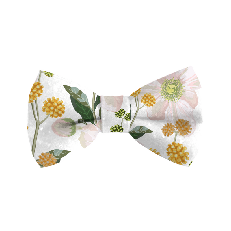 Coco & Pud Windflower Cat Bowtie