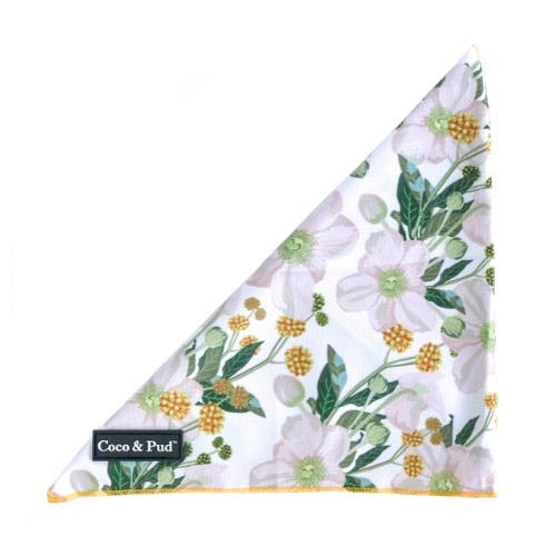 Coco & Pud Windflower Tie Up Bandana - Coco & Pud