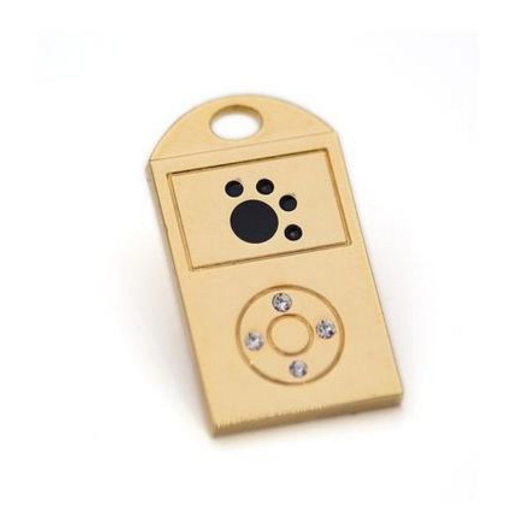 iPhone Collar Charm - Silver or Gold - Coco & Pud