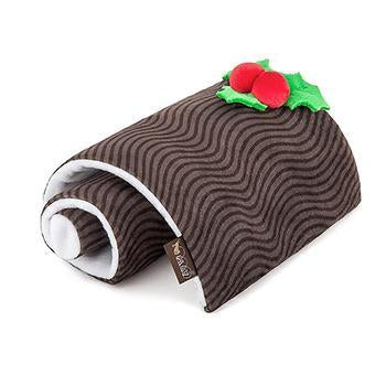 Holiday Classic Yuletide Log Dog Toy