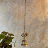 Antique Hanging Brass Bell