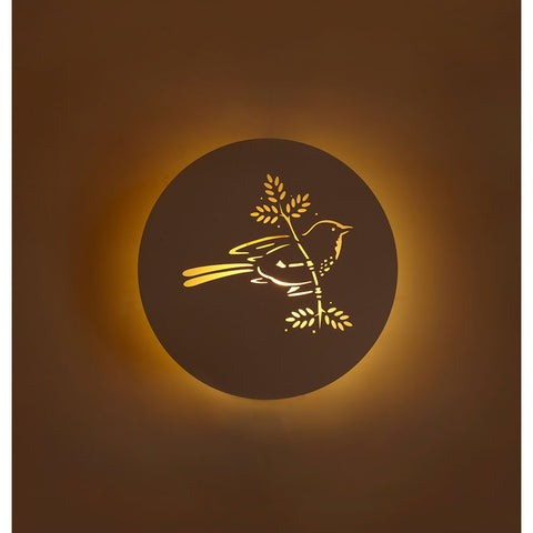 Bird Wall Light