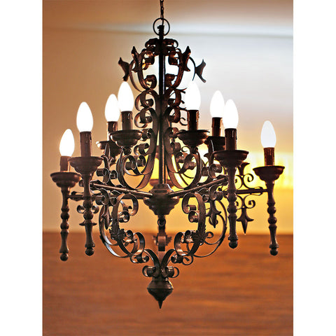 Birdies Chandelier Black