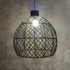 Rattan Hanging Light