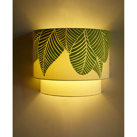 Forest Print Double Wall Light