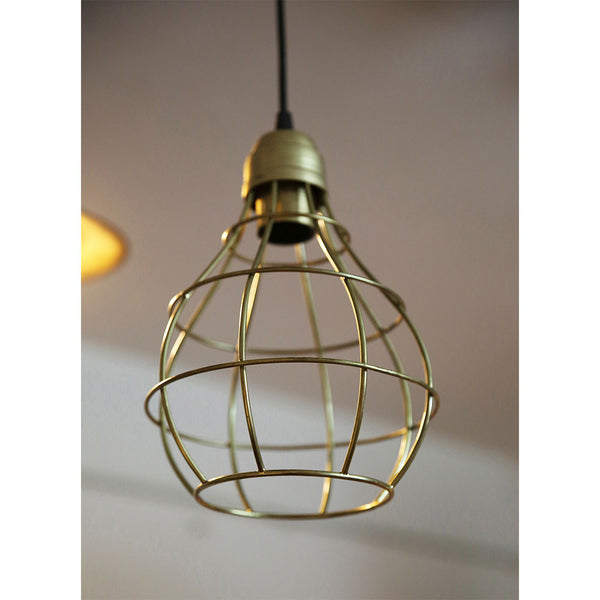 Gold Wired Surai Lamp