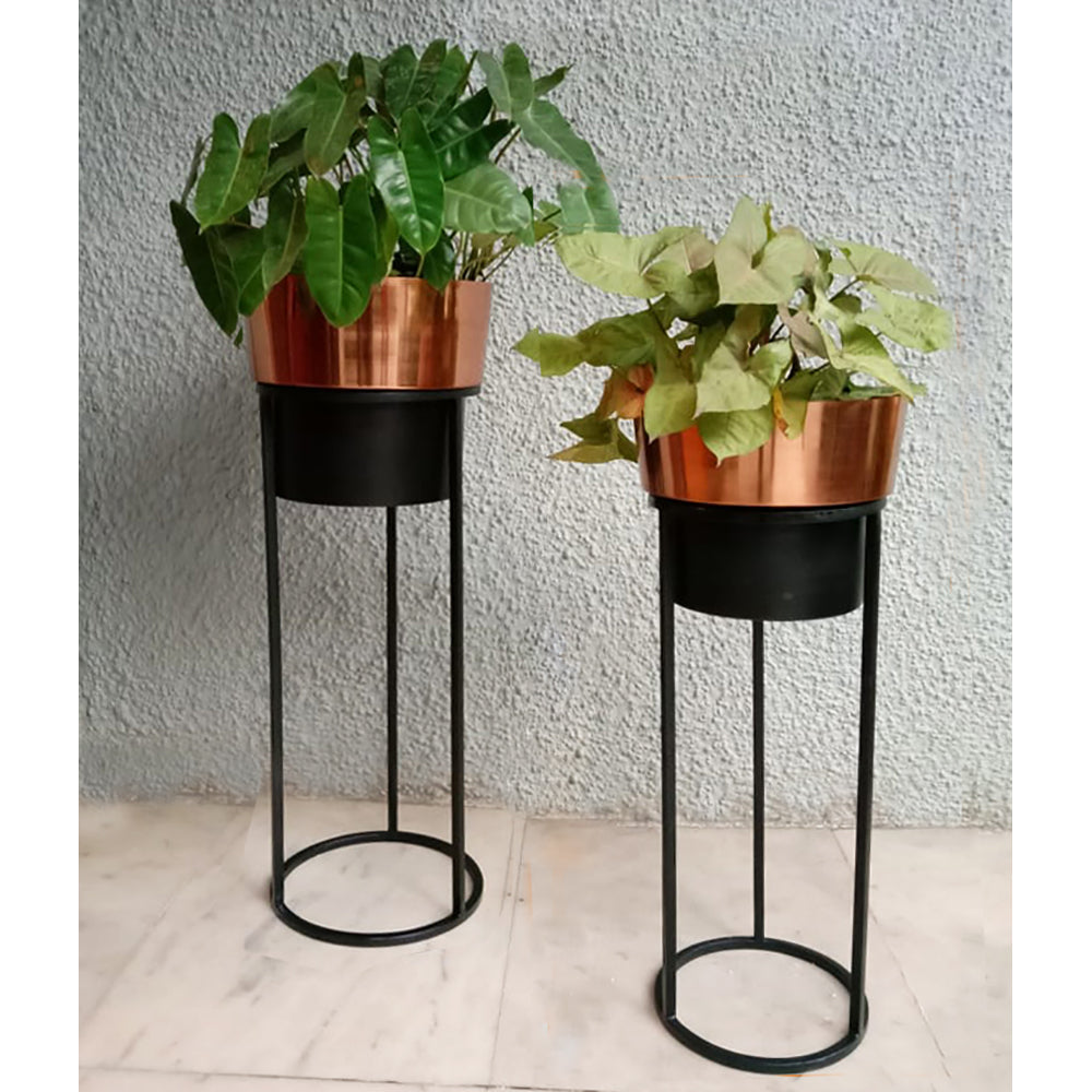 Copper Planter with stand