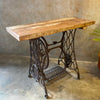 Repurposed Antique Sewing Table