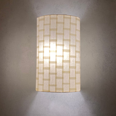 Decorative Shoji Paper Wall Light