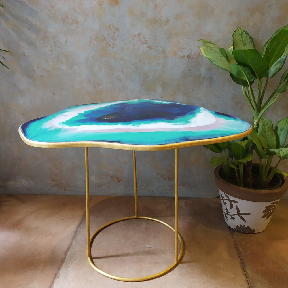 Ocean Resin Table